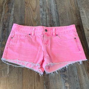 Victoria's Secret PINK pink shorts